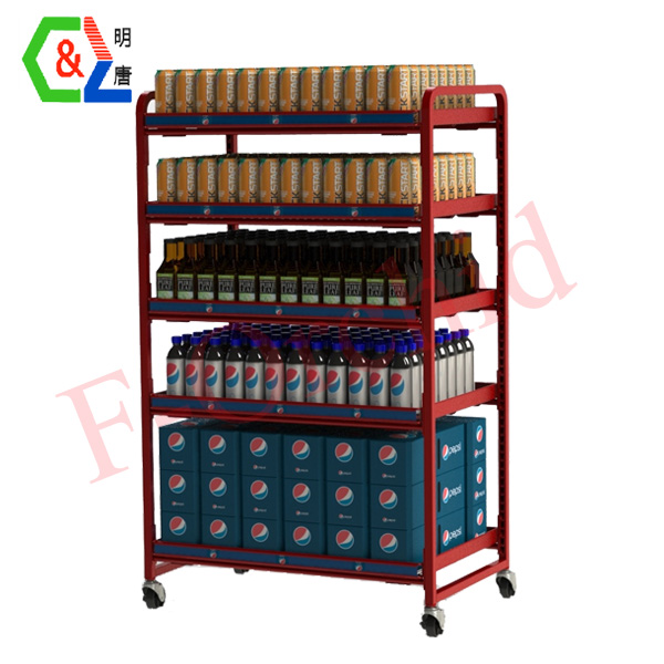 Customized Beverage Rack RS-BVR04