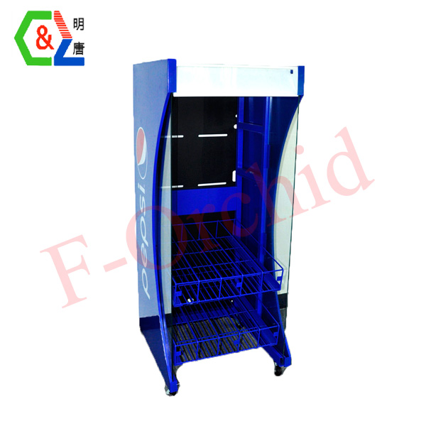 Supermaket Cola Beverage Racks RS-BVR06