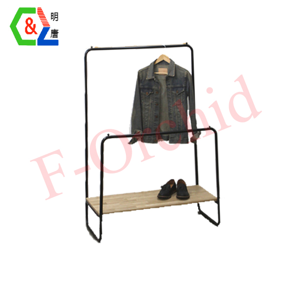 Factory Customized Garment Racks RS-GRE04