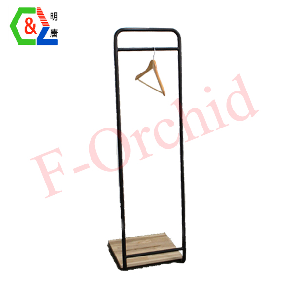 Customized Stand Garment Display RS-GRE05