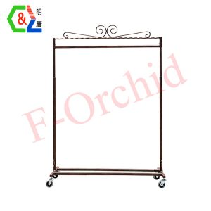 Factory Stand Garment Rack RS-GRE07