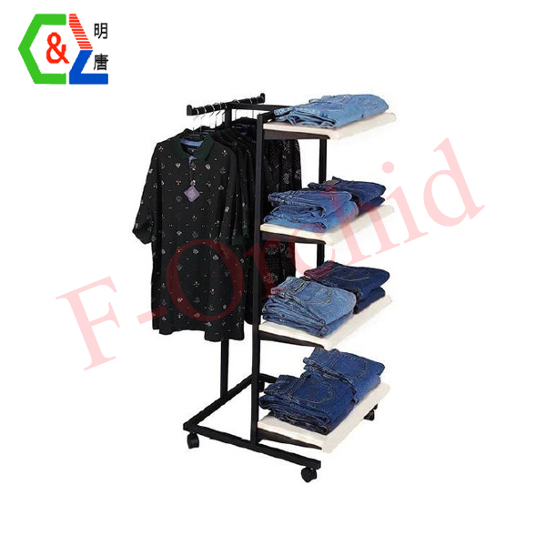 Removable Stand Garment Rack RS-GRE08