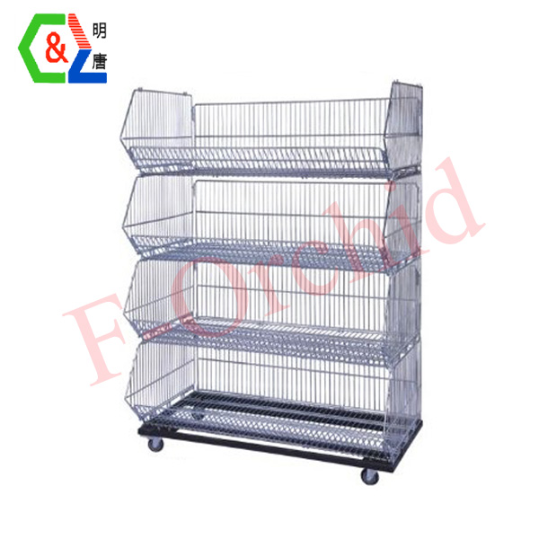 Supermarket Four-layer Storage Racks RS-SOA02