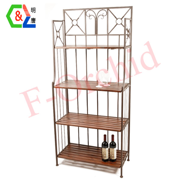 Wood Standing Wine Rack RS-WN03