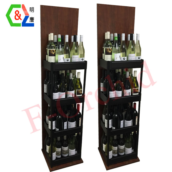 Fashion Design Wooden Wine Rack RS-WN04