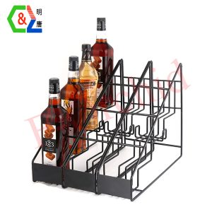12 Bottles Metal Wine Racks