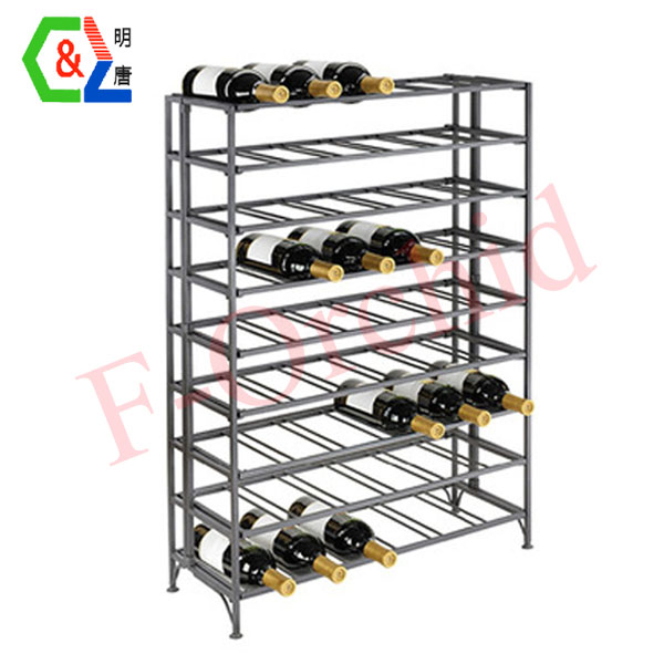 Metal Wine Display Rack