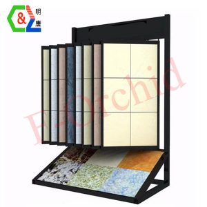 Wholesale Standing Metal Tile Display Rack