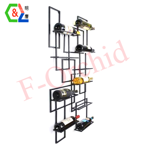 Wall Mounted Wine Display Rack