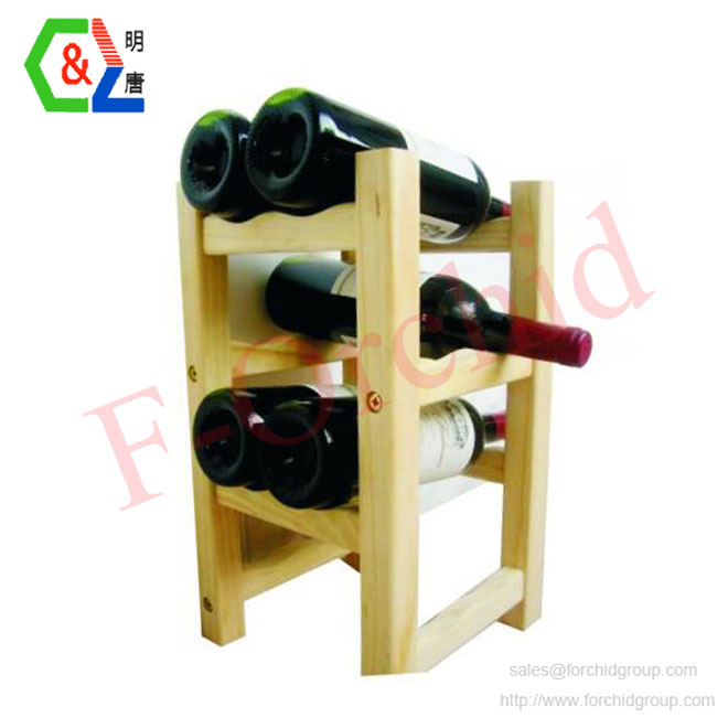 Wood Stand Wine Rack