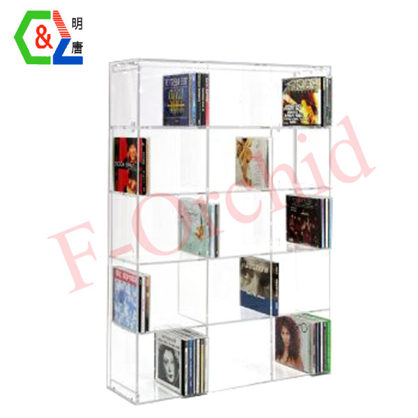 Acrylic Books Rack For Display