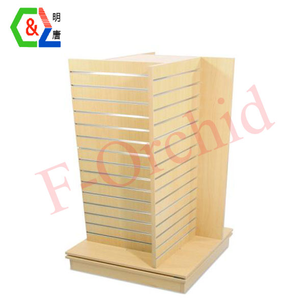 Store Counter Wooden Display Rack